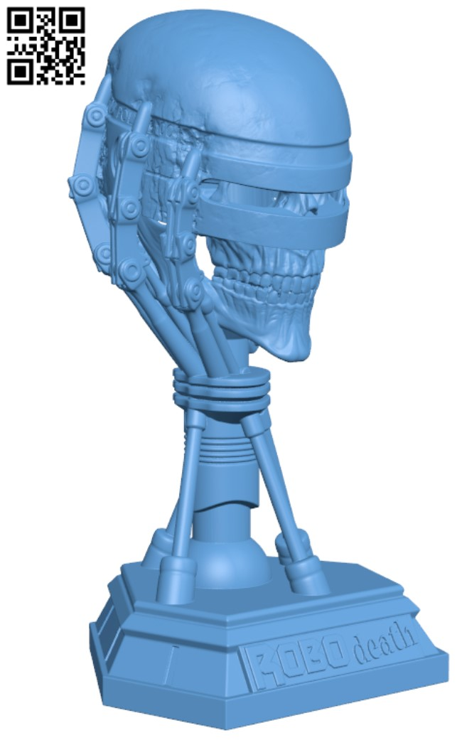 Robodeath H000006 file stl free download 3D Model for CNC and 3d printer