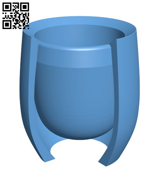 Rounds Whiskey Glass H000074 file stl free download 3D Model for CNC and 3d printer