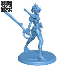Ryuko Matoi H000415 file stl free download 3D Model for CNC and 3d printer