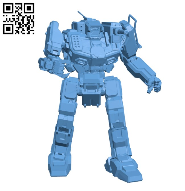 SHD-2H Shadowhawk for Battletech H000352 file stl free download 3D Model for CNC and 3d printer
