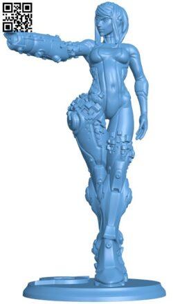 Samus Aran H000155 file stl free download 3D Model for CNC and 3d printer