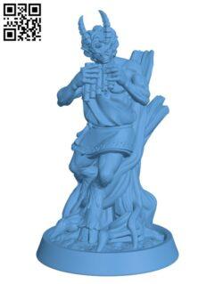 Satyr H000395 file stl free download 3D Model for CNC and 3d printer