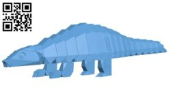 Save pangolins H000156 file stl free download 3D Model for CNC and 3d printer