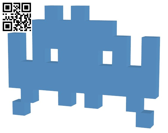 Space Invader 25 Points