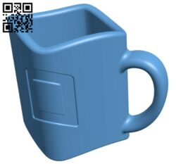 Squirclemug addsupports- Cup H000294 file stl free download 3D Model for CNC and 3d printer
