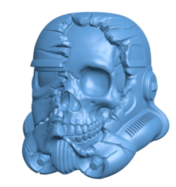 Star Wars Death Trooper H000099 file stl free download 3D Model for CNC and 3d printer