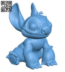 Stitch Disney H000296 file stl free download 3D Model for CNC and 3d printer