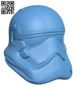 Stormtrooper Helmet H000185 file stl free download 3D Model for CNC and 3d printer