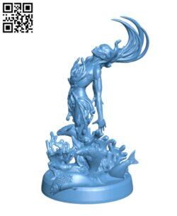 Sypha Water Spirit H000398 file stl free download 3D Model for CNC and 3d printer