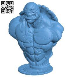 TMNT bust H000297 file stl free download 3D Model for CNC and 3d printer