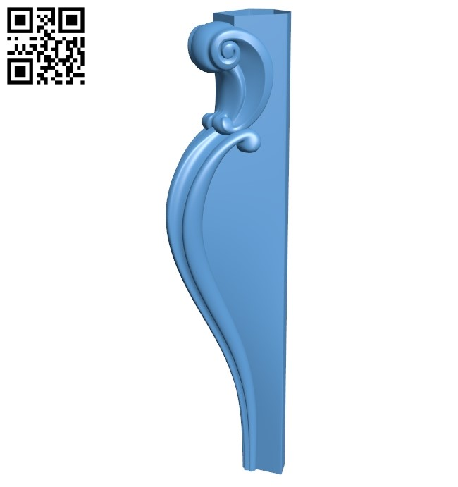 Table legs and chairs A006550 download free stl files 3d model for CNC wood carving