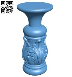 Table legs and chairs A006551 download free stl files 3d model for CNC wood carving