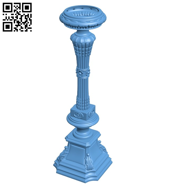 Table legs and chairs A006553 download free stl files 3d model for CNC wood carving