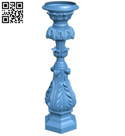 Table legs and chairs A006555 download free stl files 3d model for CNC wood carving