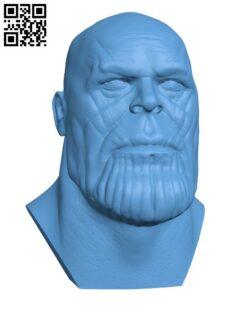 Thanos – superhero H000077 file stl free download 3D Model for CNC and 3d printer