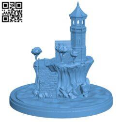 The Elder Lighthouse H000100 file stl free download 3D Model for CNC and 3d printer