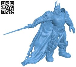 The Lich King H000219 file stl free download 3D Model for CNC and 3d printer
