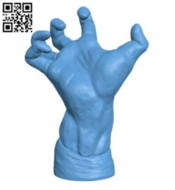 The Mighty Hand at The Musée Rodin, Paris H000494 file stl free download 3D Model for CNC and 3d printer