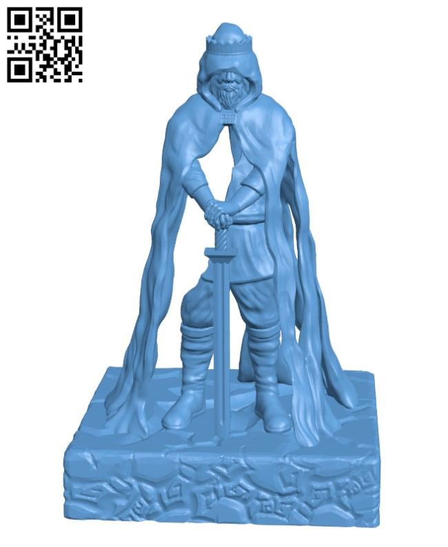 The Once and Future King H000359 file stl free download 3D Model for CNC and 3d printer