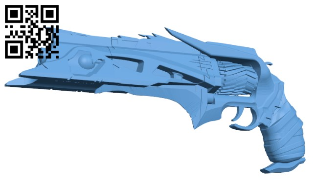 Thorn from Destiny H000046 file stl free download 3D Model for CNC and 3d printer