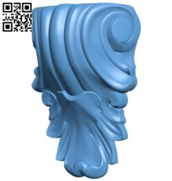 Top of the column A006590 download free stl files 3d model for CNC wood carving