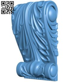 Top of the column A006595 download free stl files 3d model for CNC wood carving