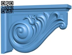 Top of the column A006598 download free stl files 3d model for CNC wood carving