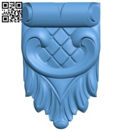 Top of the column A006599 download free stl files 3d model for CNC wood carving