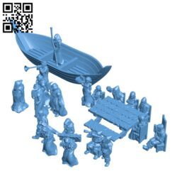Townsfolke H000248 file stl free download 3D Model for CNC and 3d printer