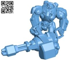 Tychus stand – robot B009628 file stl free download 3D Model for CNC and 3d printer