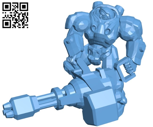 Tychus stand - robot B009628 file stl free download 3D Model for CNC and 3d printer