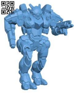 VPE-Zero Vapor Eagle for Battletech – Robot H000425 file stl free download 3D Model for CNC and 3d printer