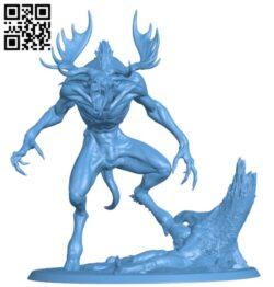 Wendigo H000162 file stl free download 3D Model for CNC and 3d printer