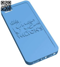 Wilton's Music Hall iPhone Case H000080 file stl free download 3D Model for CNC and 3d printer