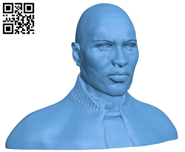 Wretch 32 Bust H000049 file stl free download 3D Model for CNC and 3d printer