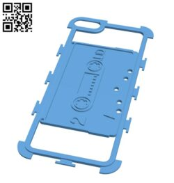 Cassette tapes I-phone plate H000023 file stl free download 3D Model for CNC and 3d printer