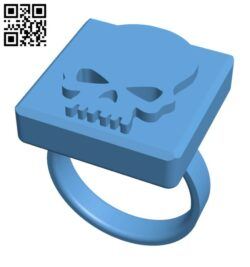 3D Printed Halloween Ring H001080 file stl free download 3D Model for CNC and 3d printer