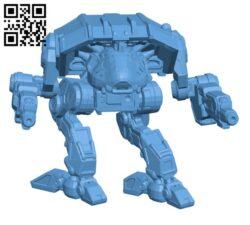 ADR-Prime Adder, aka Puma for Battletech – Robot H000720 file stl free download 3D Model for CNC and 3d printer