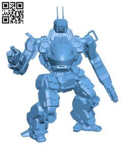 ANH-F4 Annihilator for Battletech – Robot H000518 file stl free download 3D Model for CNC and 3d printer