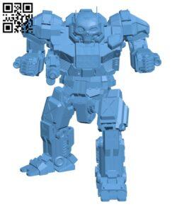 AS7-WGS Atlas (Samsonov) for Battletech – Robot H000606 file stl free download 3D Model for CNC and 3d printer