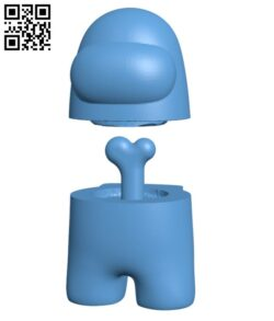 Among Us H000550 file stl free download 3D Model for CNC and 3d printer