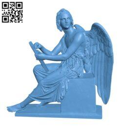 Angel H000810 file stl free download 3D Model for CNC and 3d printer