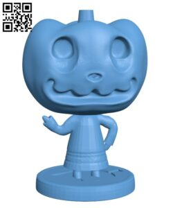Animal Crossing – Jack – Halloween H000930 file stl free download 3D Model for CNC and 3d printer