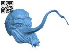 Anti-Venom H000631 file stl free download 3D Model for CNC and 3d printer