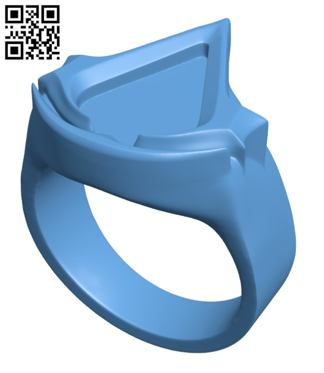 Assassins Creed Ring H000811 file stl free download 3D Model for CNC and 3d printer