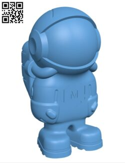 Astronaut phil-a-ment H000812 file stl free download 3D Model for CNC and 3d printer