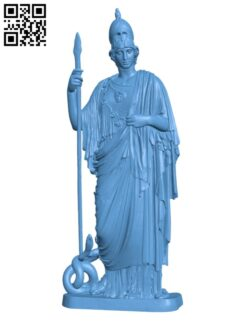 Athena Pallas Giustiniani H000901 file stl free download 3D Model for CNC and 3d printer