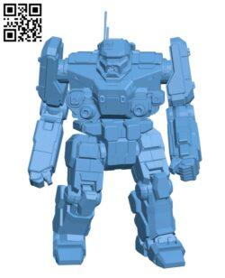 BNC-3M Banshee for Battletech – Robot H000609 file stl free download 3D Model for CNC and 3d printer