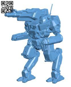 BZK-F3 Hollander BN Edition for Battletech – Robot H000521 file stl free download 3D Model for CNC and 3d printer