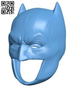 Batman Cowl H000841 file stl free download 3D Model for CNC and 3d printer